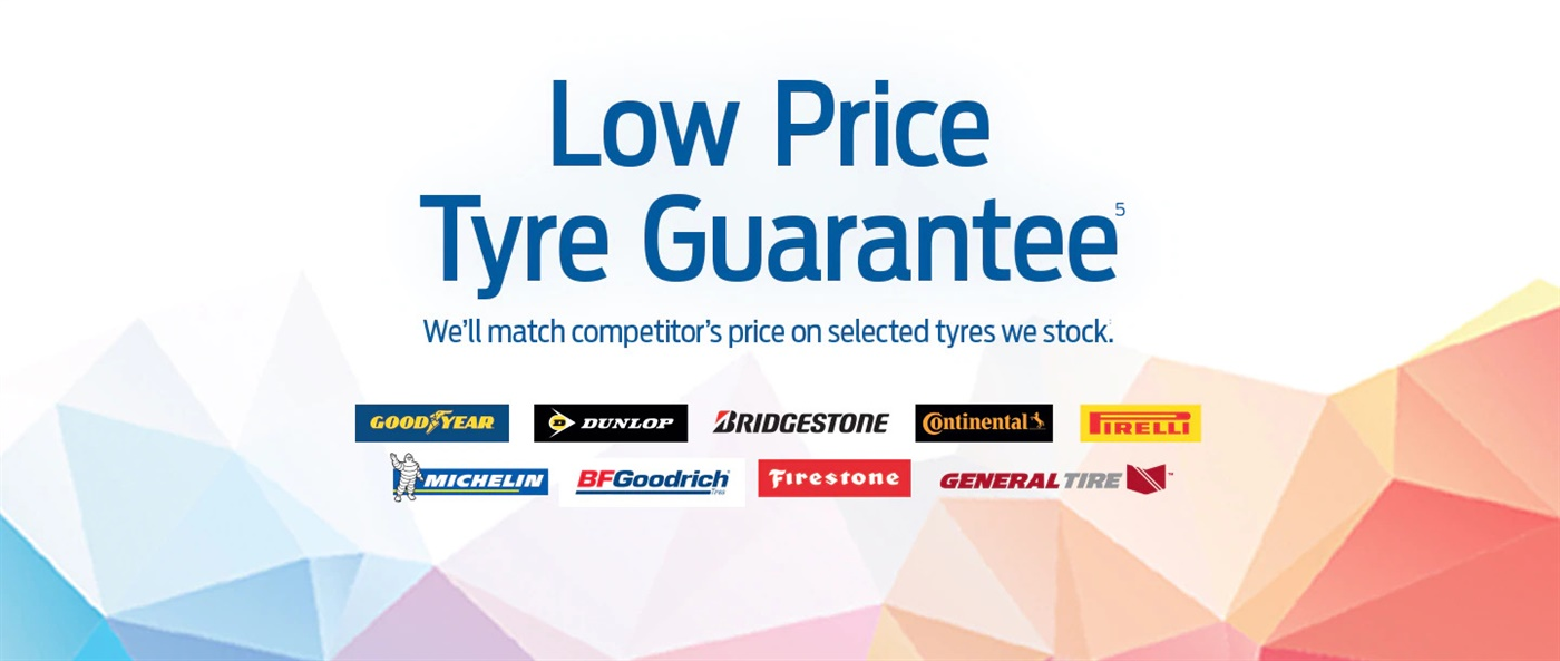 Low Price Tyre Guarantee
