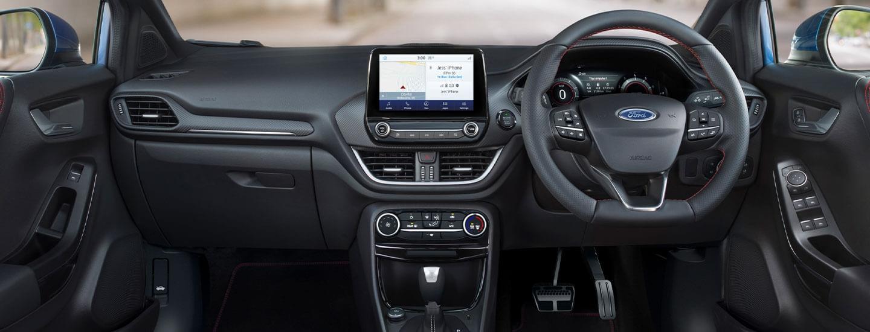 Ford Puma Performance Interior