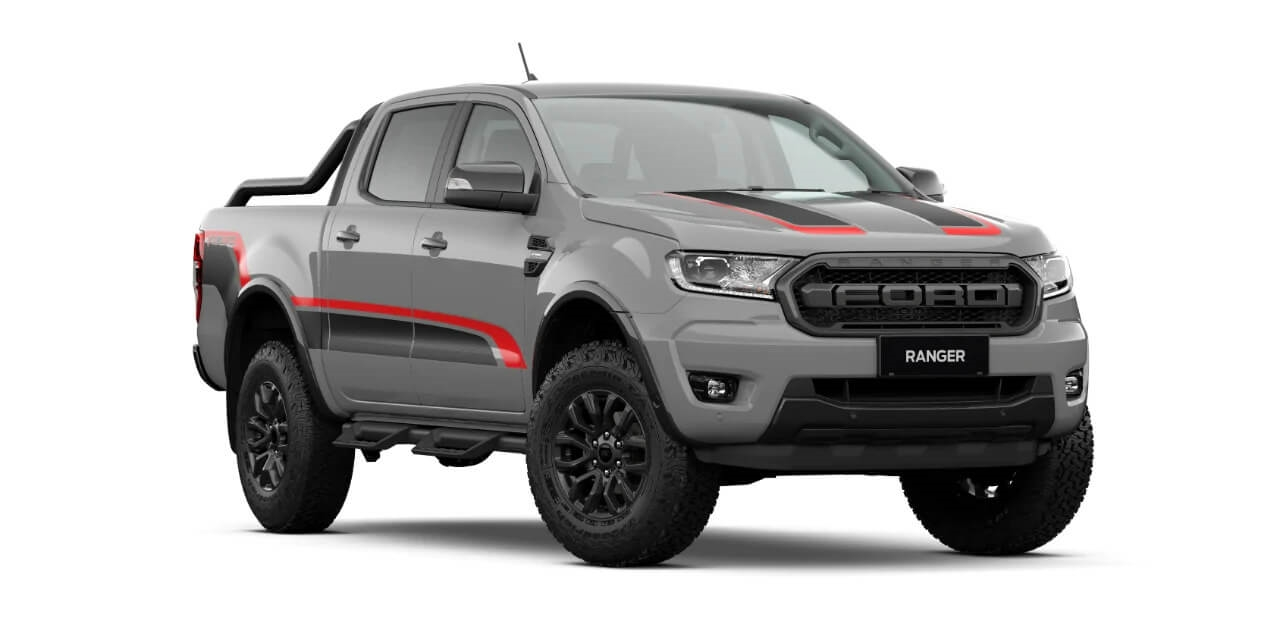 FX4 MAX w/ Optional Decal in Conquer Grey