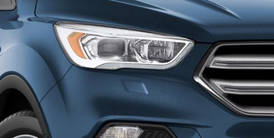 Even the headlights are smart