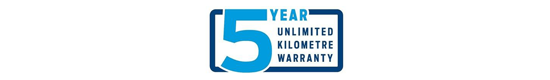 Ford 5 Year Unlimited KM Warranty