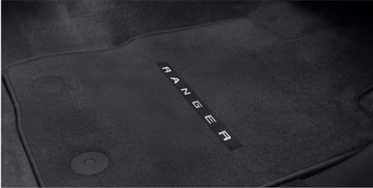 Mats Carpet With Logo Double Cab