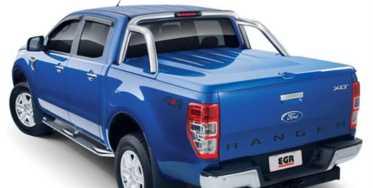 Tonneau cover FLA - hard EGR - 3 piece with RL - body colour