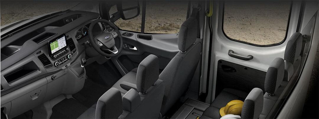 Transit Cab Chassis Interior