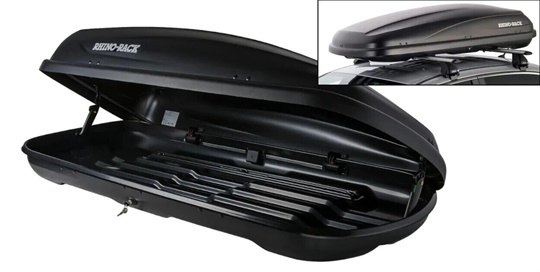 Rhino Rack roof luggage box - 410L (Black)
