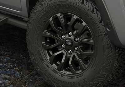 All-Terrain Tyres & 17-inch Alloy Wheels