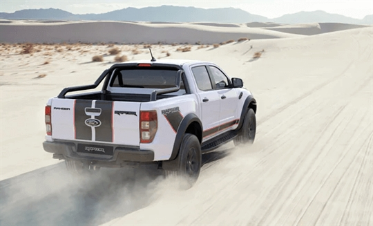 Ford Ranger Raptor X Paddle Shifters