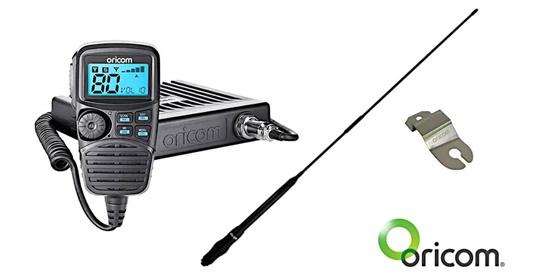 UHF CB Radio with Antenna plus bracket for Fender Mount - FLA
