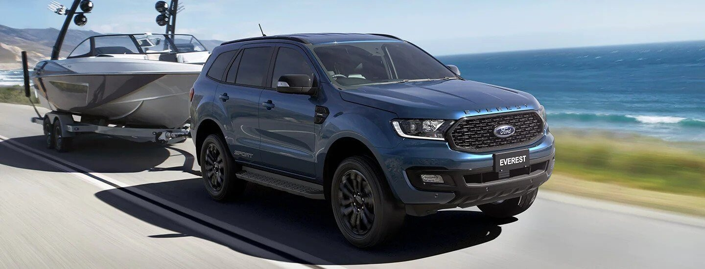 Ford Everest Space and Utility