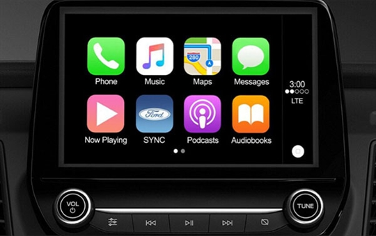 Apple CarPlayTM & Android AutoTM