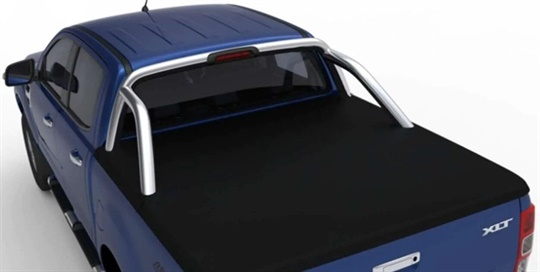 Tonneau cover FLA - soft EGR - (Double Cab with loadrest)