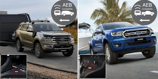 Trailer Brake Controller - vehicles with AEB - FLA
