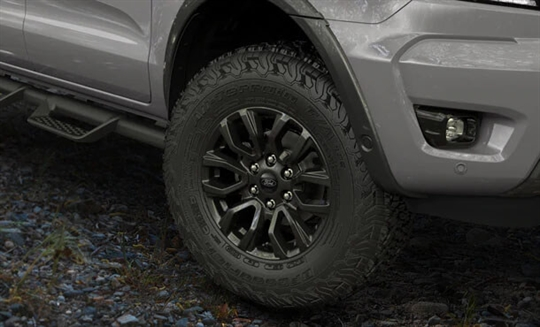 "BFGoodrich® All-Terrain Tyres with 17"" Bolder Grey Alloy Wheels"