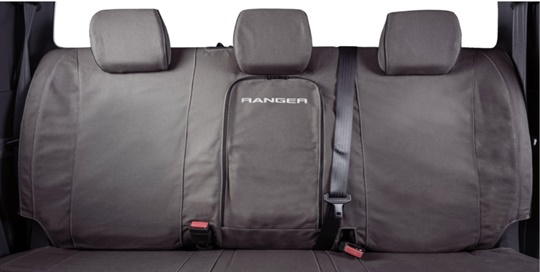 Seat covers rear double cab - FLA