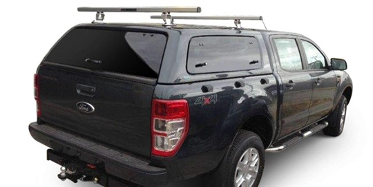 Carry bars Aeroklas - Self Supporting Roof Rack - Double Cab