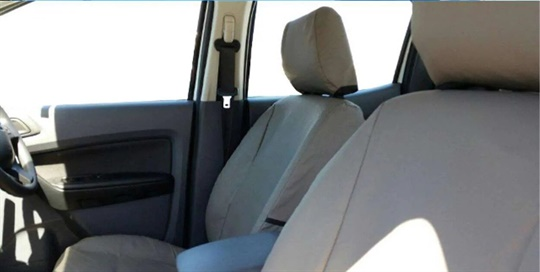 Seat Covers Canvas - Front