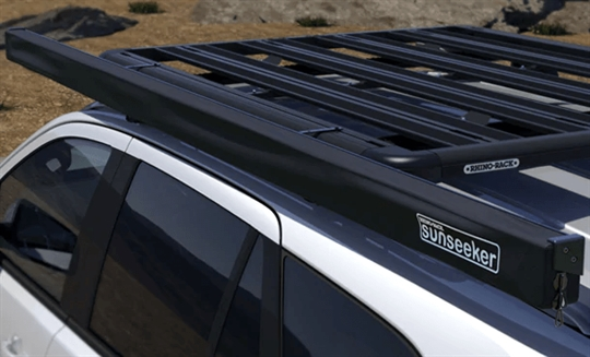 Sunseeker Awning, Large Pioneer Platform & Carry Bars