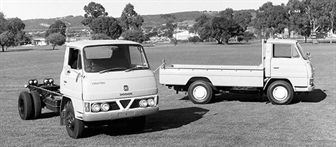 The original Dodge Canter from 1971.