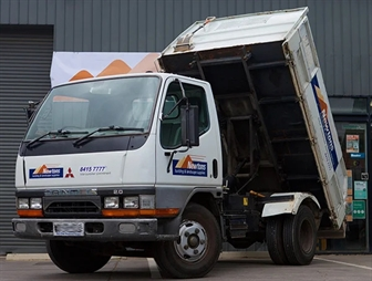 The Canter Tipper that has done 1,000,000KM.