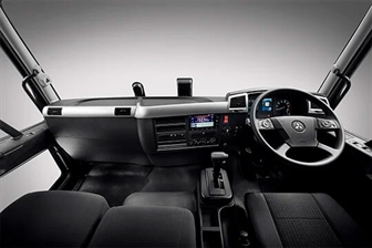 Inside the new Fuso Fighter Euro 6 FN.