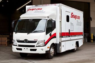 New Hino The Truck Of Choice For Snap On Tools News At Prestige Hino