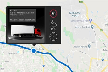 Go beyond GPS fleet tracking with Hino-Connect Image