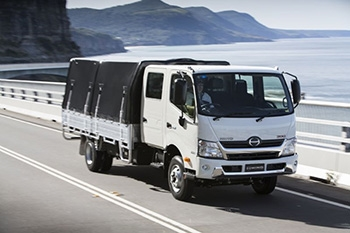 The light-duty journey for Hino Australia Image