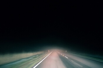 Stay Safe At Night Driving Your Truck Image