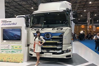 Hino showcases innovative thinking at the Tokyo Motor Show Image