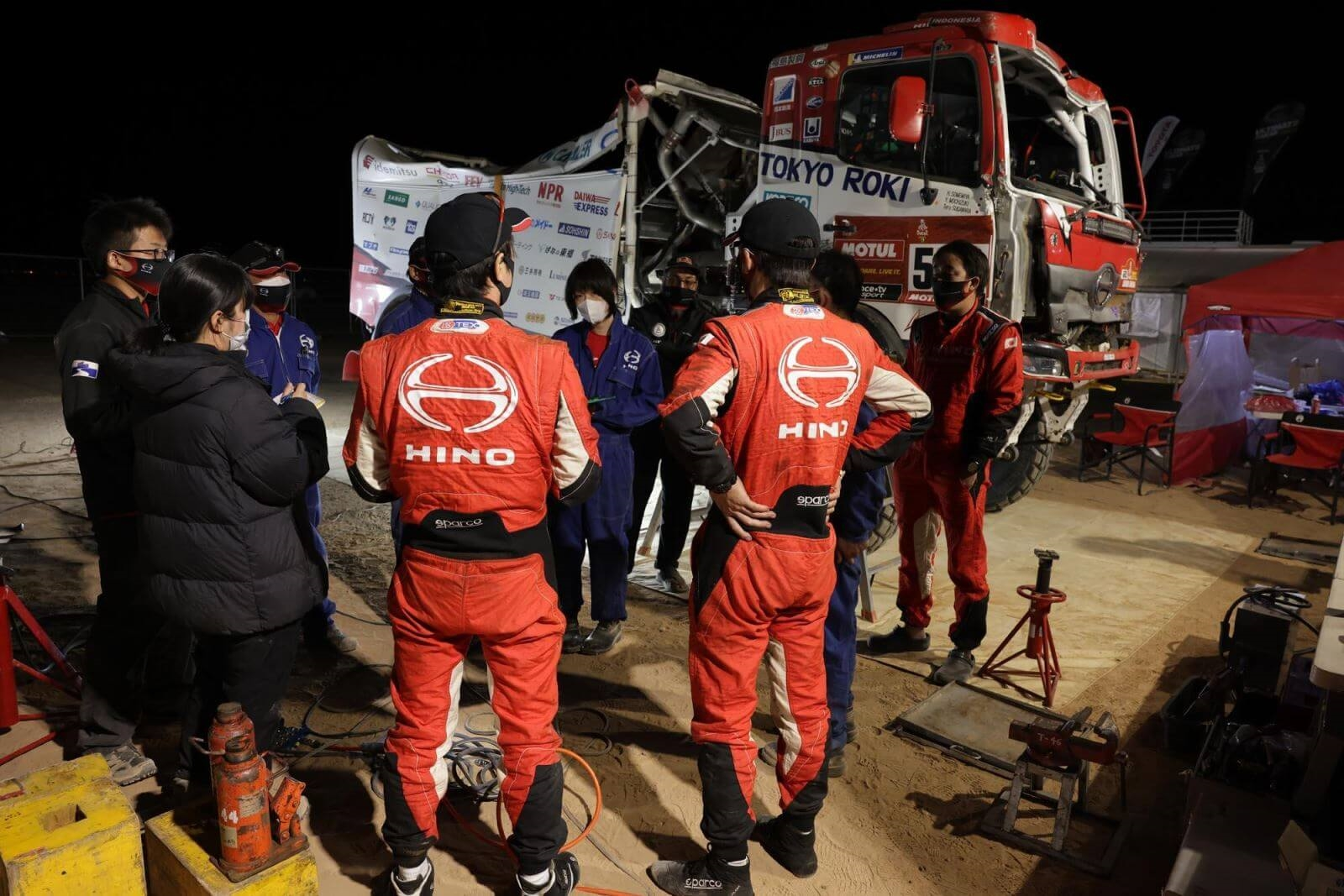 Hino Team Dakar Rally