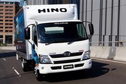 Hino 300 from Sci-Fleet Hino