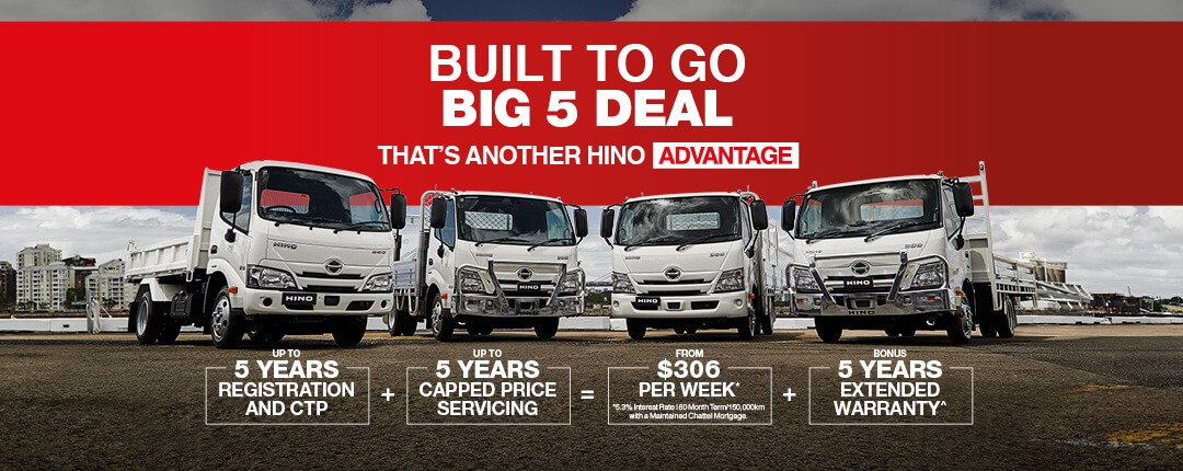 Built to Go Big 5 Deal