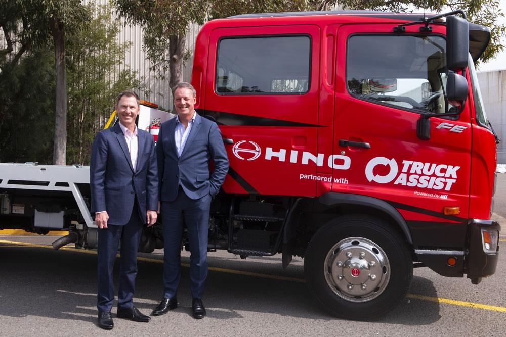Hino Recovery Truck