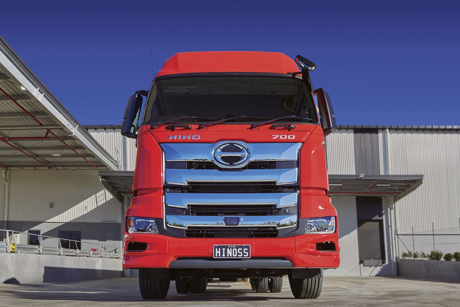 The all-new Hino 700 Series is the safest Hino truck ever.