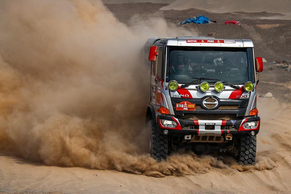 Hino 500 Series Dakar Rally Truck