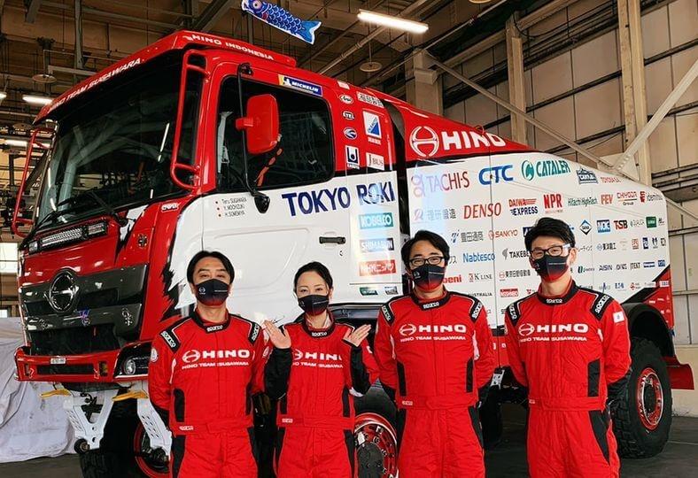 Hino team Sugawara