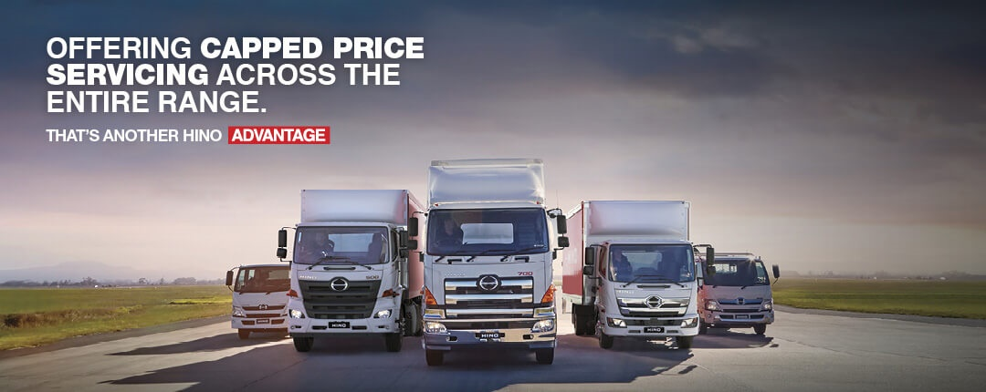 Capped Price Service From Mavin Hino