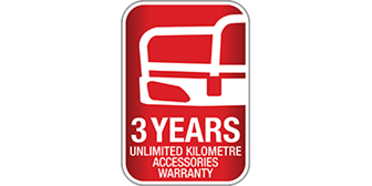 3 Years Unlimited Kilometre Accessories Warranty