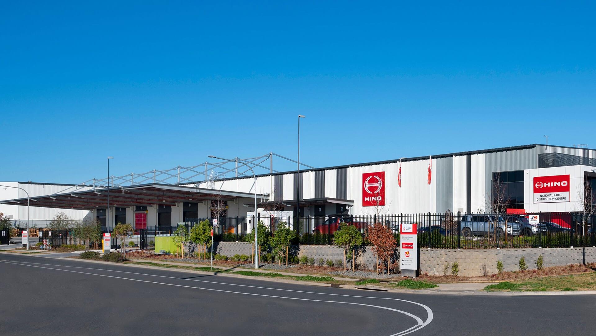 Hino opens new Parts Distribution Centre