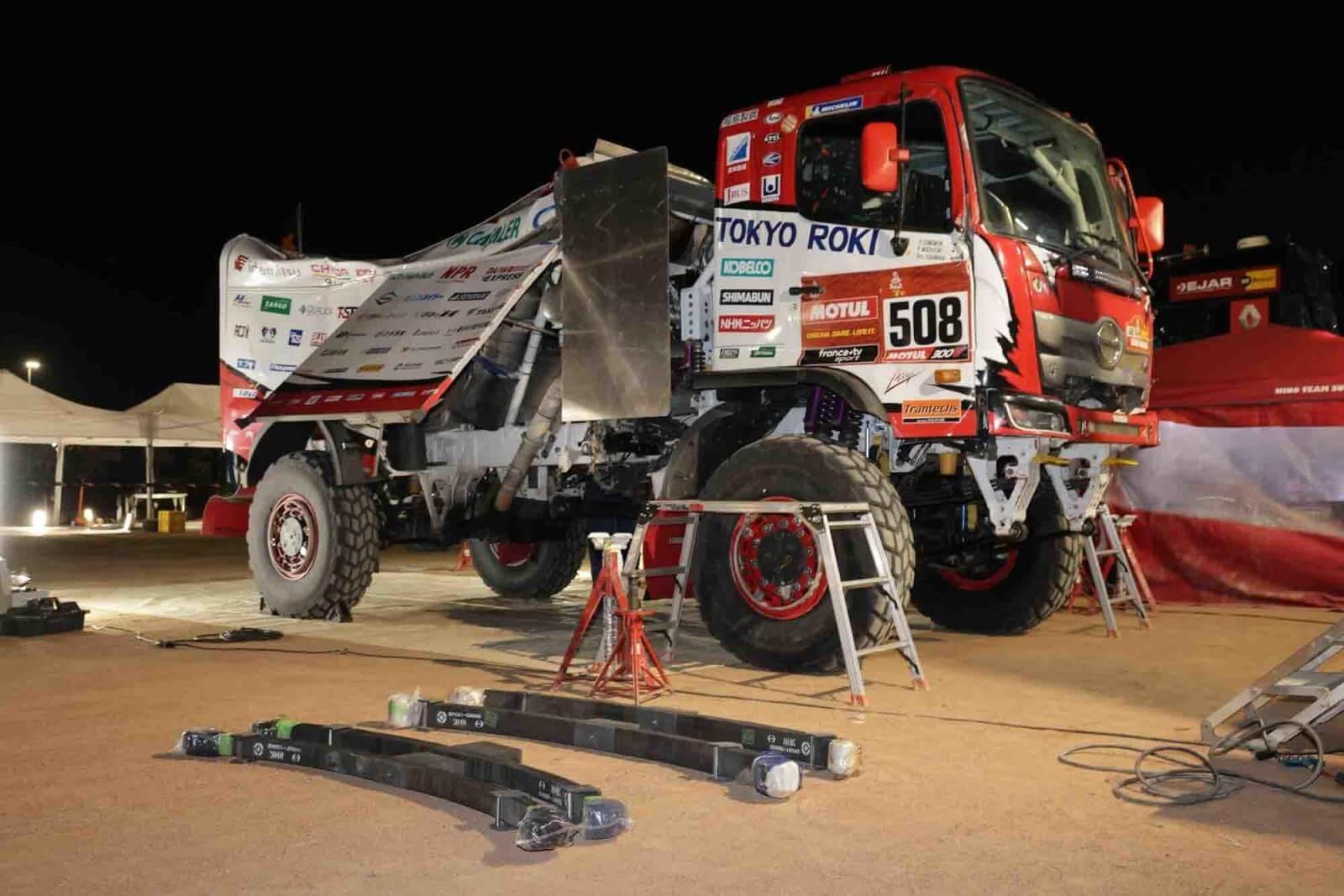 Dakar Rally Hino Truck
