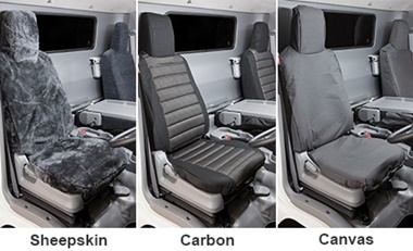 Seat Covers - Sheepskin, Canvas & Carbon