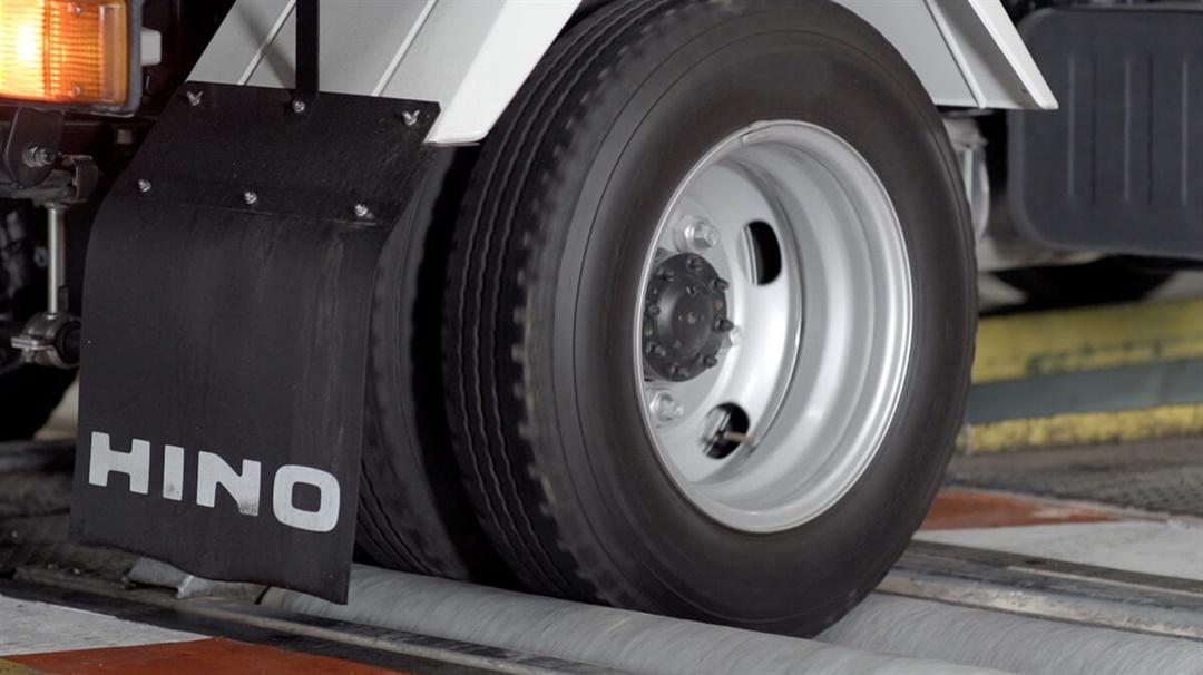 Roller brake test