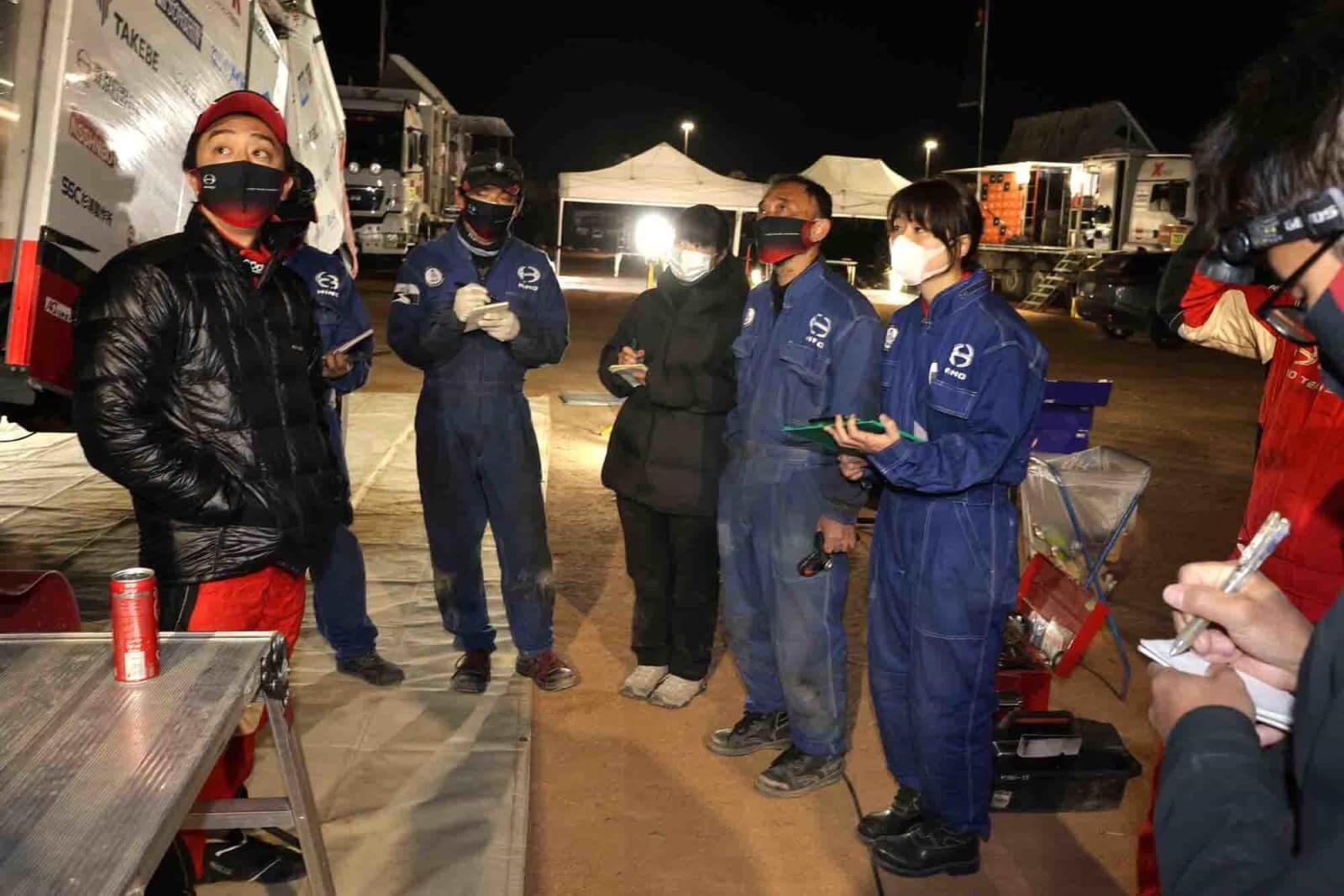 Dakar Rally Hino Team