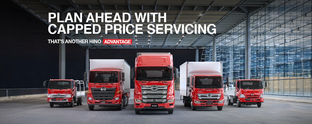 Capped Price Service From Honeycombes Hino