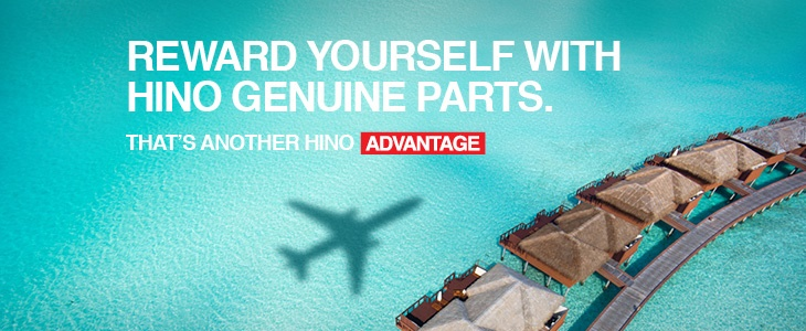 Hino Advantage Rewards