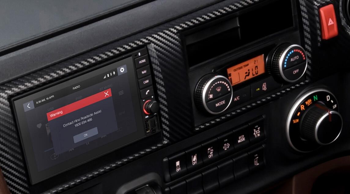 Hino 700 Series Interior