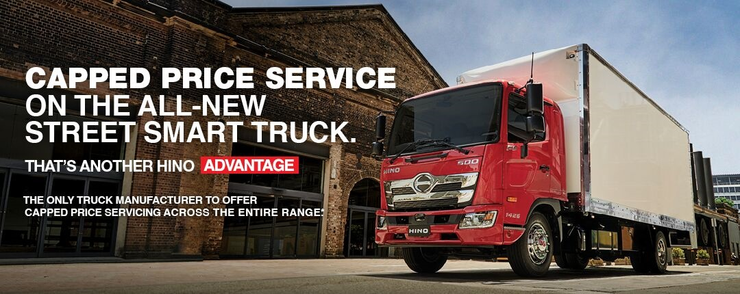 Capped Price Service From Sci-Fleet Hino