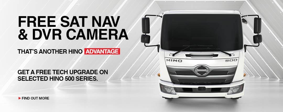 Free Sat Nav & DVR Camera
