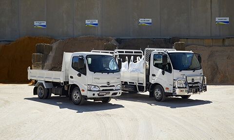 Hino 300 Series Built to Go Range