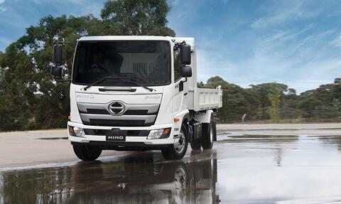 Hino 500 Series Built To Go
